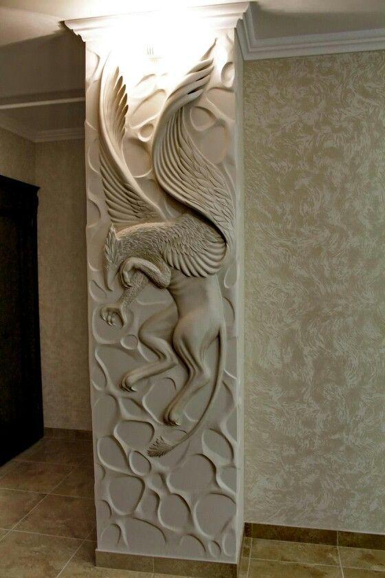 Барельеф Plaster design