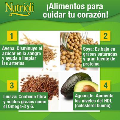 ¡Alimentos para cuidar tu corazón!