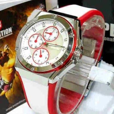 Jam Tangan Expedition E-6391 Silver White Red RP 825,000 | BB : 21F3BA2F | SMS :083878312537