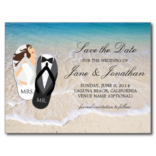181 best Beach Save the Date Cards images – Beach Wedding Save the Date Magnets