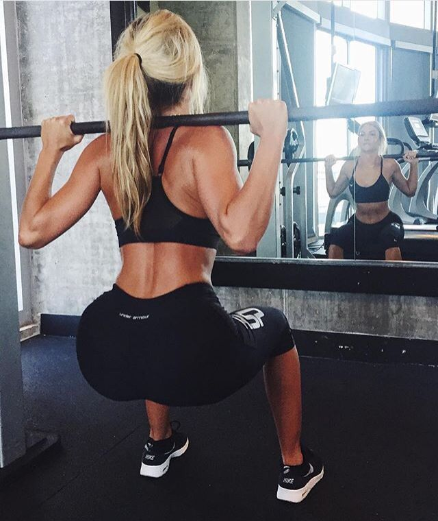 Squats are a lady's best friend