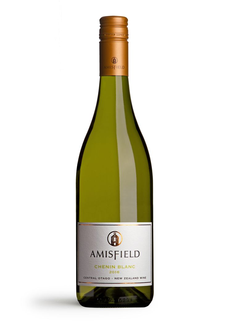 Amisfield Chenin Blanc 2016 - A uniquely fragrant wine with complexity and vibrant aromas of citrus, sultana grape and green apple. A hint of lanolin leads to a deliciously zingy palate with bracing acidity.