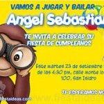 Invitaciones de cumpleaños de Jorge el Curioso Gratis