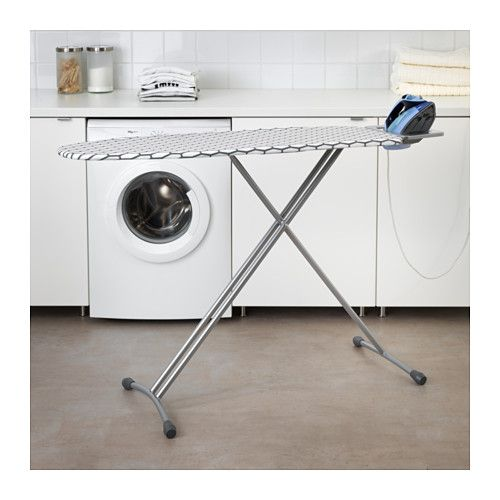 IKEA DÄNKA ironing board Variable height adjustment.