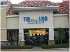 Fuje Sushi in Orlando - My favorite place to have sushi.