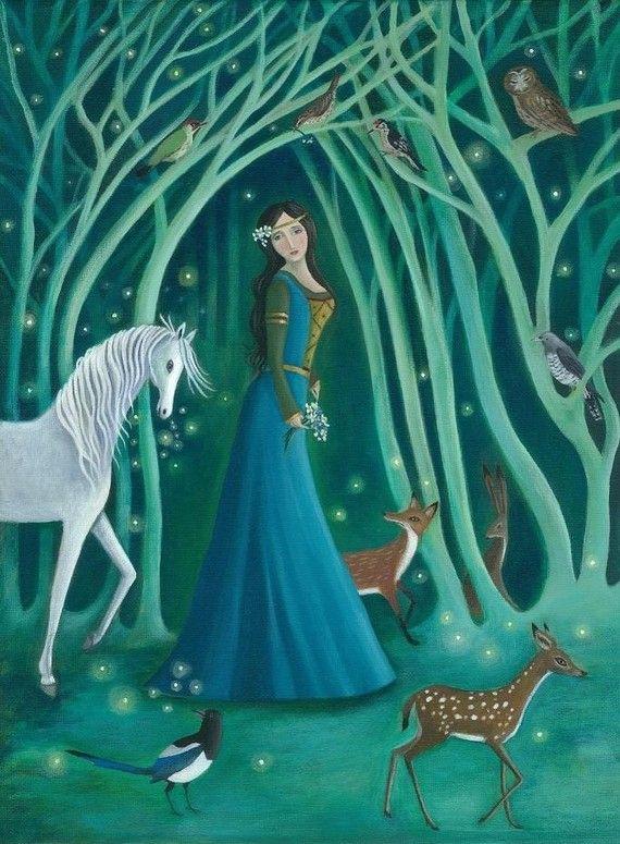 Karen Davis   #magical#forest#fairytale