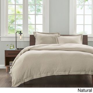 INK+IVY Jersey Cotton 3-piece Duvet Cover Set - Free Shipping On Orders Over $45 - Overstock.com - 18795188 - Mobile