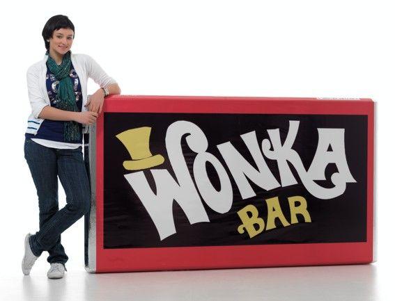 Wonka Chocolate Tesco