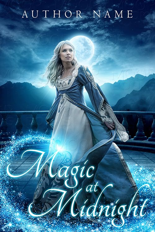 Young Adult Fantasy Romance book cover design premade by