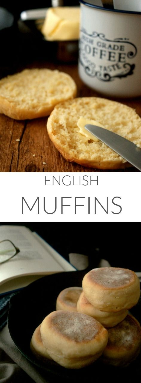 English muffins for a perfect breakfast in Patty's Cake. Soft inside and crispy outside. (English recipe included)  Muffins ingleses para el desayuno. Panecillos en sartén. Deliciosos.