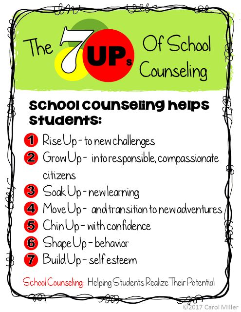 Get Ready For National School Counseling Week