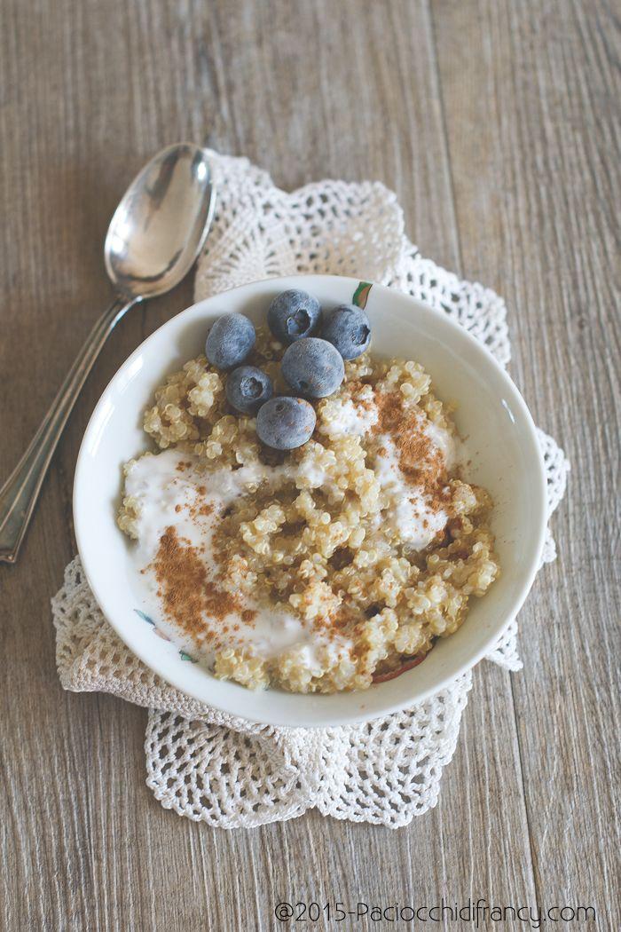 quinoA con latte vegetale