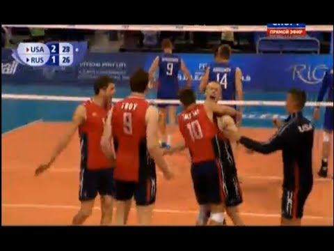 [Full Match] USA vs RUSSIA - 2015 FIVB Volleyball World League Week 4