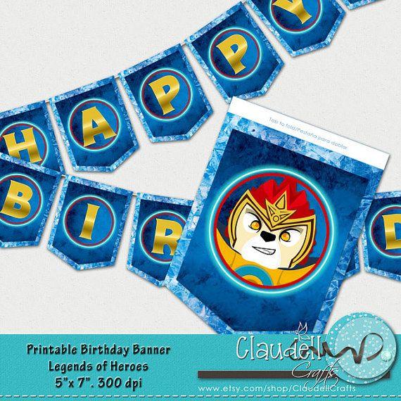 Mejores 21 imágenes de LEGO CHIMA Theme Birthday Party en Pinterest ...