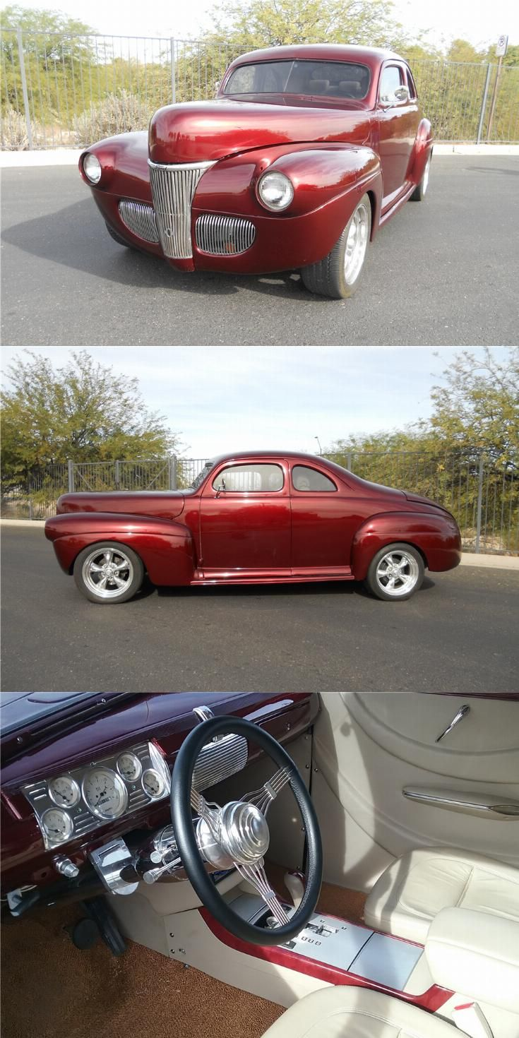 Chopped 1941 Ford Deluxe Hot Rod Rods For Sale