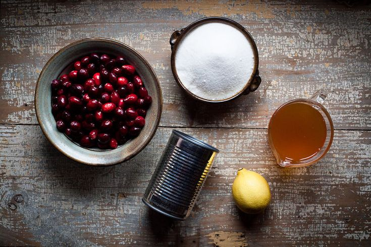 Homemade Cranberry Jelly, In a Can. This recipe is super easy to put together, and the results are far better than anything you'd buy in the store.
