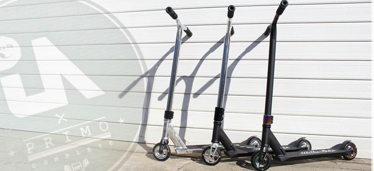 New 2014 Urban Artt Primo Complete Scooters