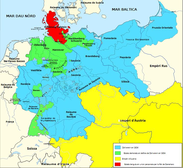 influence of european states to unification The wars of german unification  prussian influence in the german lands and was  dramatic change in the wider european structure of states and.