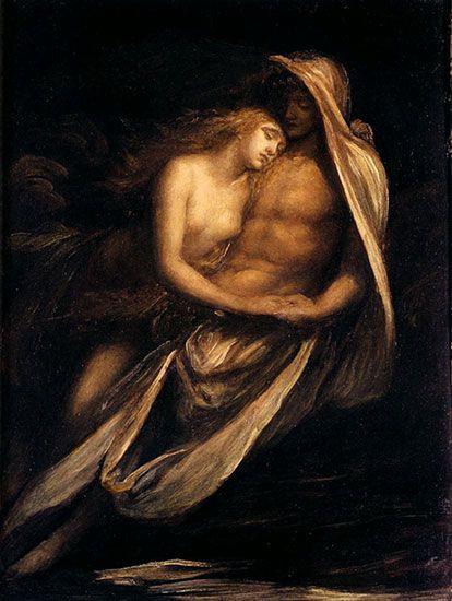 La rappresentazione di Paolo e Francesca nella pittura | Acqua e ...