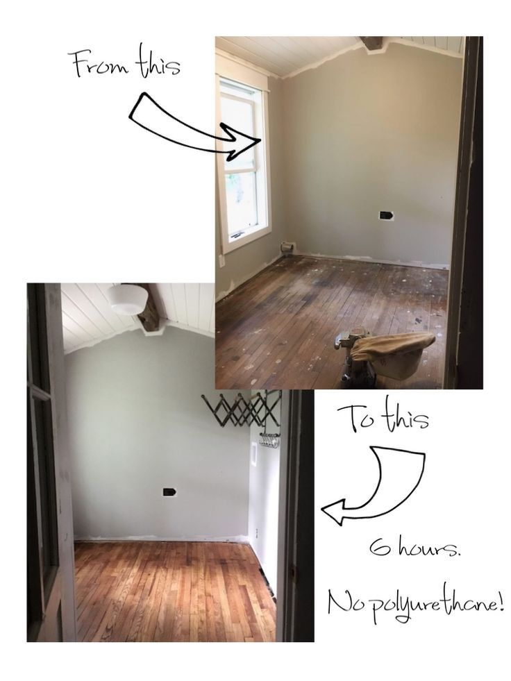 How We Refinished Our Old Wood Floors In 6 Hours In 2020 With