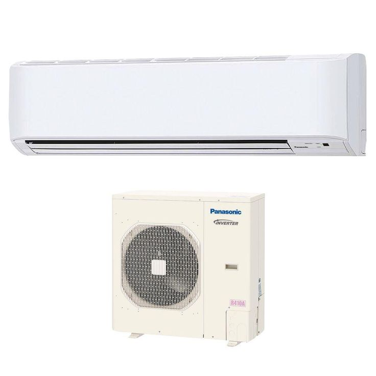 36,000 BTU 3 Ton Ductless Mini Split Air Conditioner with Heat Pump - 208 or 230V/60Hz, White