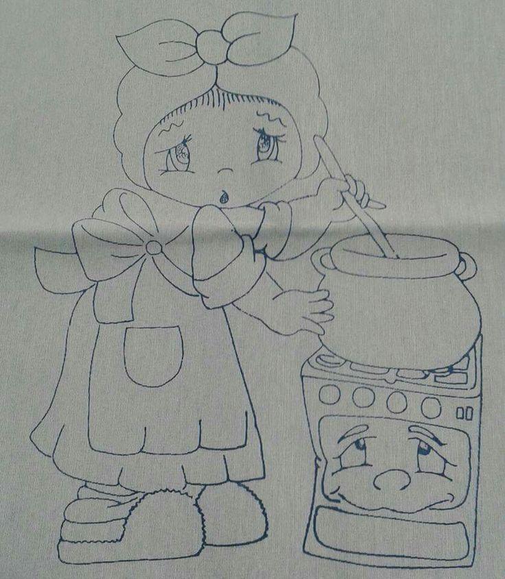 Niña cocinera …