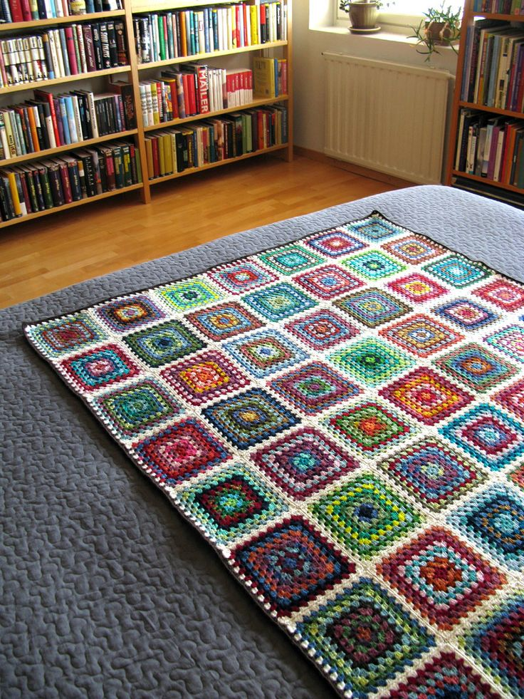 Scrappy Granny Blanket   Flickr - Photo Sharing!