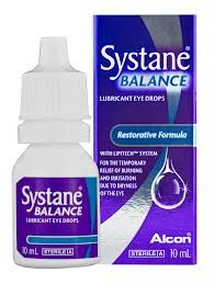 SYSTANE BALANCE 10ml - 9.00€ - Λιπαντικές οφθαλμικές σταγόνες, σχεδιασμένο για άτομα με ξηροφθαλμία που σχετίζεται το πρόβλημα στο λιπιδικό στρώμα των δακρύων. Βελτιώνει και αποκαθιστά το λιπιδικό στρώμα της δακρυϊκής στοιβάδας.