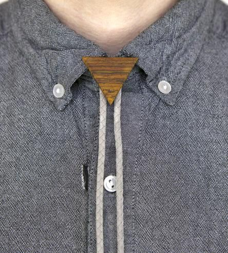 Reclaimed Wood Bolo Tie