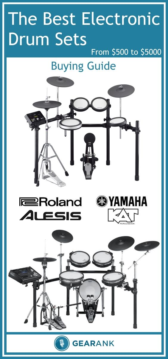 the best electronic drum sets 500 to 5000 this guide features a recommended list of the. Black Bedroom Furniture Sets. Home Design Ideas