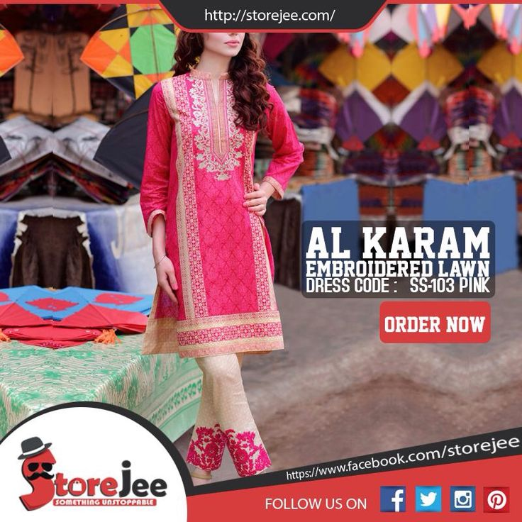 Alkaram Lawn is available at Storejee. The place from where you can buy stuff of your choice at economical prices. To order visit our facebook page www.facebook.com/storejee #Akaram #summer #lawn #clothes #replica #dress #womens #ladies #shopping #online #Pakistan #store #storejee #fashion
