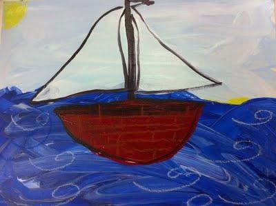 Kinder Sail Boats Great Montessori/Reggio blog #fairydustteaching