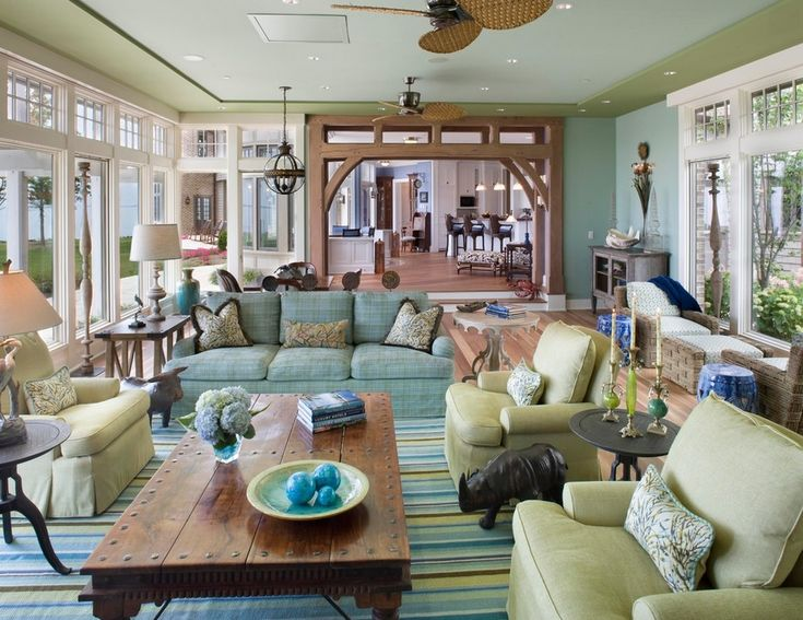 Colorful Family Room Ideas Part - 21: Summer Color Family Room What You Can Learn By Adding Home Interior Summer  Colors