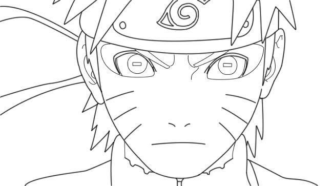Dibujos De Kakashi Para Colorear: Resultado De Imagen Para Naruto Para Colorear