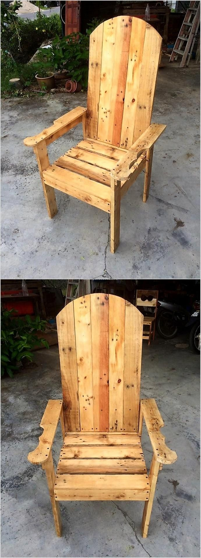 49 best images about pallet chairs on pinterest recycling