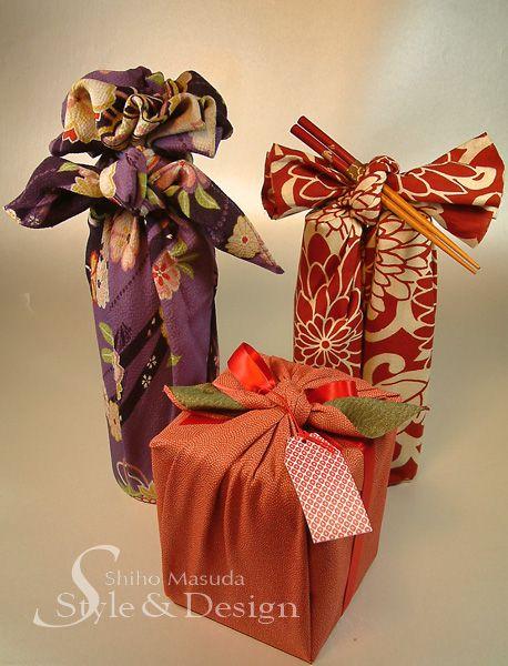 Japanese Furoshiki Wrapping