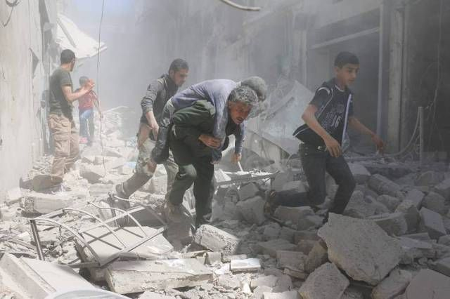 Where we lost Humanity All hospitals are destroyed in Aleppo battle - 2