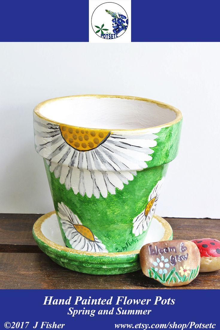 51 best potsetc hand painted flower pots images on pinterest drawing flowers paint flowers. Black Bedroom Furniture Sets. Home Design Ideas
