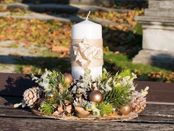 Christmas candle holder Christmas ornaments Holiday candleholder Christmas lighting Christmas decoration xmas decor
