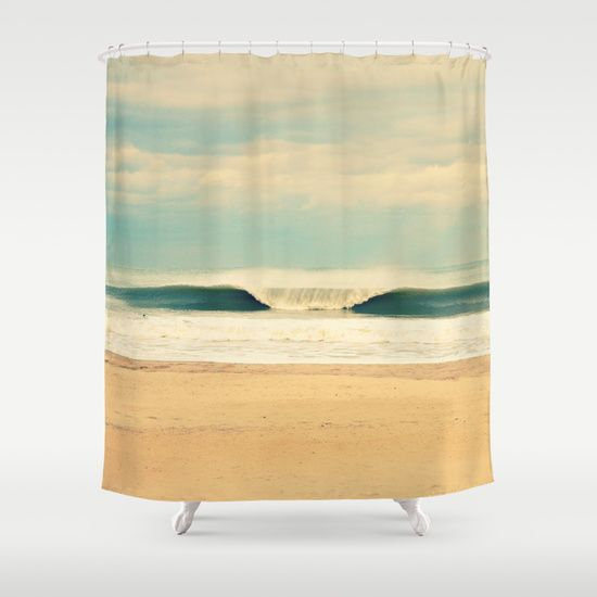 Buy Shower Curtains featuring Winter Wave by RDelean. Made from 100% easy care polyester our designer shower curtains are printed in the USA and feature a 12 button-hole top for simple hanging.