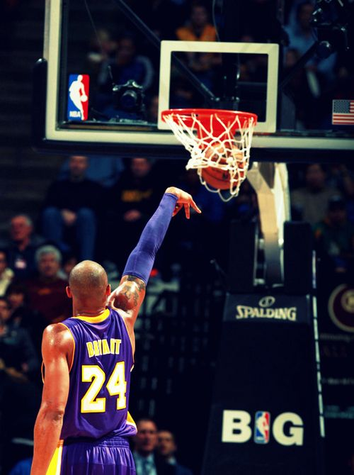 Free Throw - Kobe (black mamba) Bryant (L.A. Lakers)