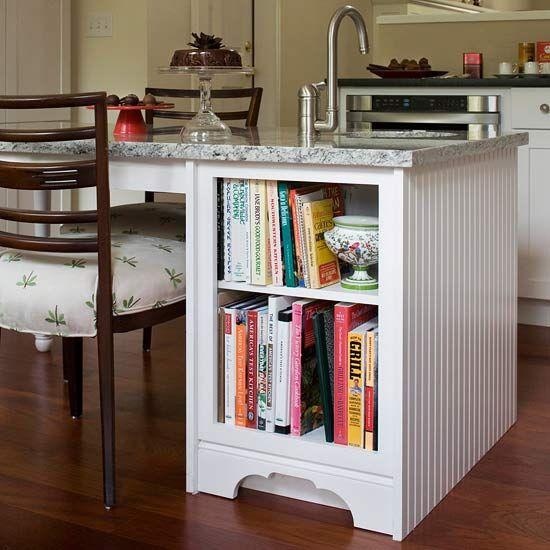 Diy Bookcase Kitchen Island: 1000+ Ideas About Cookbook Shelf On Pinterest