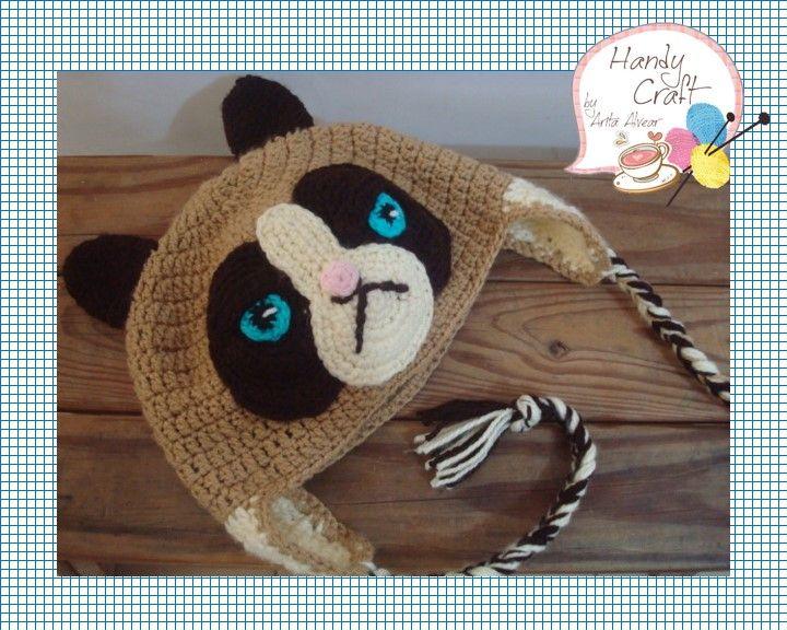 Grumpy Cat Crochet Hat Pattern Free : crochet Grumpy cat Tejido ***Mi querida Sof?a ...