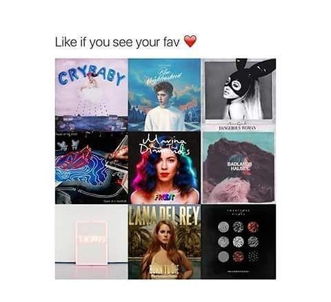 TROYE, LANA, MARINA, ARI, MELANIE ♥   #melaniemartinez #littlebodybigheart #limecrime #makeup #edits #meme #love #crybabytour #crybabies #crybaby #crybabyalbum #music #alternative #radio #artist #gains #gainpost #gaintrick #teddybear #cake #carousel #soap #sippycup #playdate #troyesivan #lanadelrey #halsey #justinbieber #arianagrande #twentyonepilots