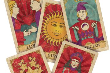 Find out how the tarot deck is structured and illustrated, as well as ways to use the tarot to spark your creative fire! Wellbeing magazine.