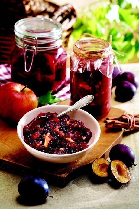 Švestkovo-jablečný džem
