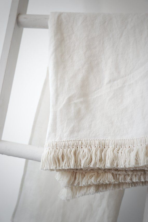 100 Linen Bath Towel Beach Towel Sauna Towel Soft Linen Bath Towels Towel With Tassel Fringe Handmade Towel Fringe Towel Linen Bath Towels Linen Hand Towels Handmade Towel
