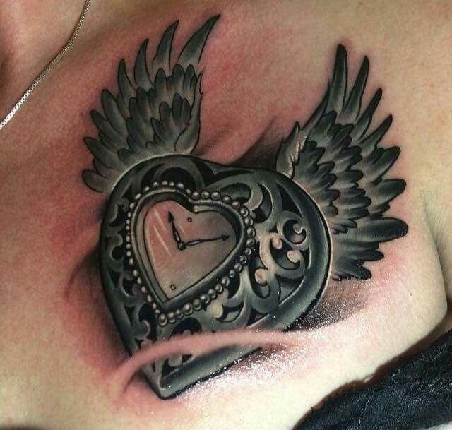 17+ Best Ideas About Time Flies Tattoo On Pinterest