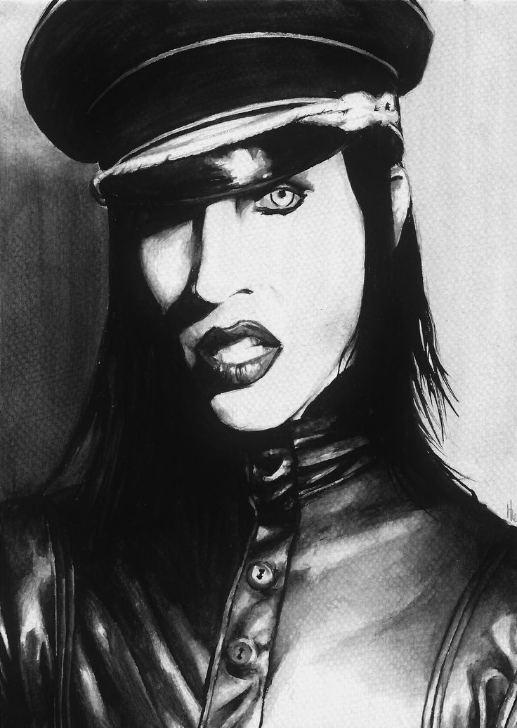 Man That You Fear - Marilyn Manson by WizzyLee.deviantart.com on @deviantART
