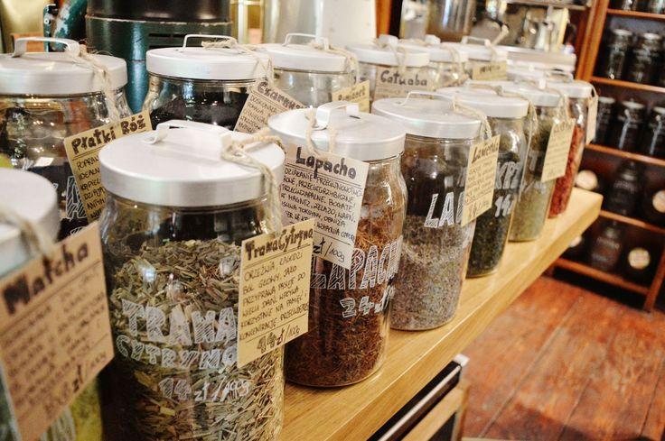 herbs shop. cracow, poland - KawaLerka